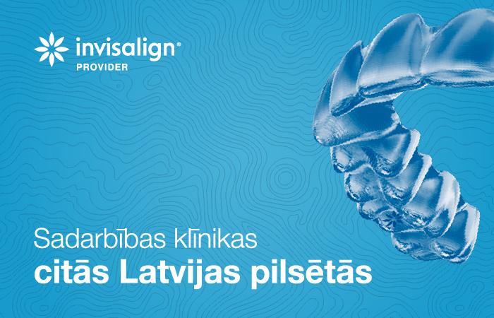 Sadarbības klīnikas citās Latvijas pilsētās